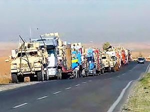 ABD askeri konvoyu Kürdistan Bölgesi'nde