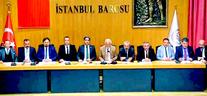 12 Barodan Feyzioğlu'na çağrı: Ya kanunu uygulayın ya da istifa edin
