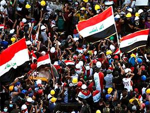 Irak'ta protestolar: Sadr'ın grev çağrısı sonrası 4 kentte tatil ilan edildi