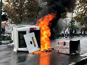 'Üç güvenlik görevlisi göstericiler tarafından öldürüldü'