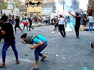İran'dan Irak'a: Göstericilere karşılık verin!