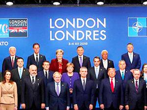 Dünyanın gözü Londra'daki NATO Zirvesi'nde