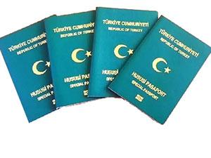 Yeşil ve gri pasaportlara kısıtlama
