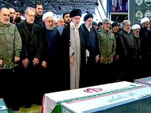 Kasım Süleymani için Tahran'da cenaze töreni düzenleniyor