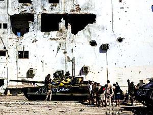 Libya'da Hafter'e bağlı güçler Sirte'ye girdi