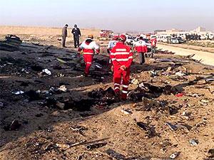 İran'da yolcu uçağı düştü: 176 yolcu ve mürettebat öldü