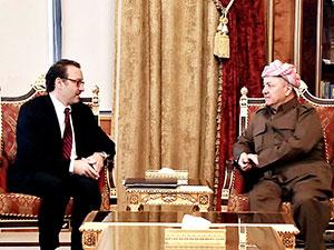 Mesud Barzani: Uluslararası Koalisyon çekilirse terör güçlenir
