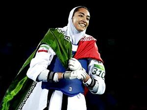 Olimpiyat madalyalı İran'lı kadın atlet ülkesini terk etti
