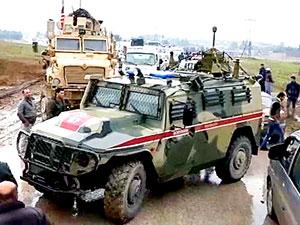 ABD güçleri Rus askerlerinin yolunu 5. kez kesti