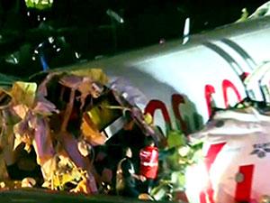 Sabiha Gökçen'de yolcu uçağı pistten çıktı: Yaralılar var