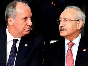 Kemal Kılıçdaroğlu, Muharrem İnce ile görüştü