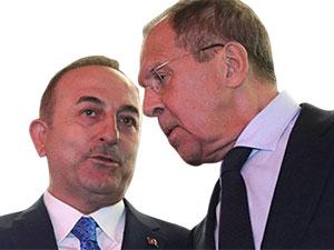 Çavuşoğlu ile Lavrov arasında S-400 görüşmesi