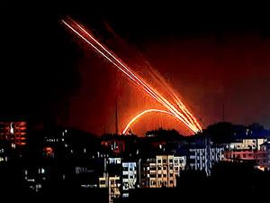 İsrail'den Hamas hedeflerine hava saldırısı