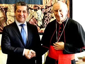 Vatikan: Kürdistan Bölgesi'ni destekliyoruz