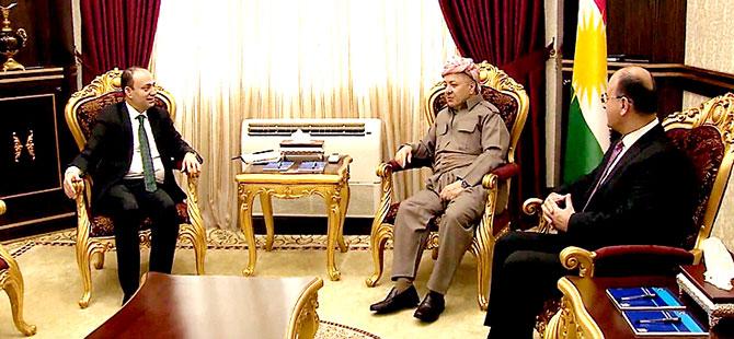 Mesud Barzani ile Osman Baydemir bir araya geldi