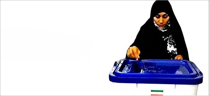 İran'da parlamento seçimleri yapılıyor