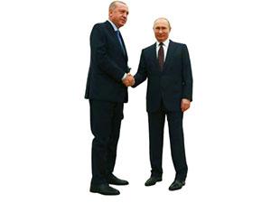 Erdoğan ve Putin arasındaki kritik görüşme başladı