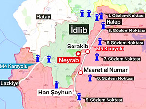 'İdlib'de ateşkes' kararı yürürlüğe girdi