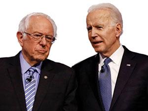 Demokrat Parti'de Biden, Sanders'la farkı açıyor