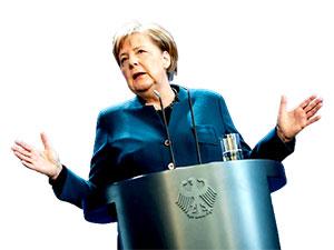 Merkel'in partisi yerel seçimlerde zafer ilan etti