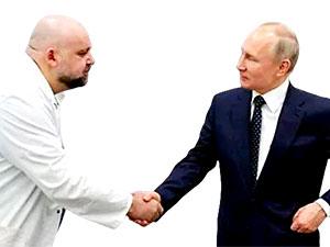 Putin'in gittiği hastanenin başhekimi Koronavirüs'e yakalandı