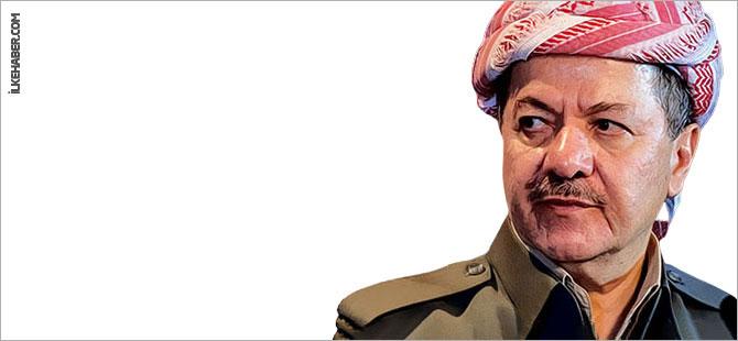 Mesud Barzani: Bayrağı yakanlar bedelini ödeyecek