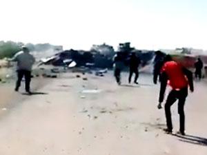 İdlib'de Türk-Rus konvoyu protestosu: 3 ölü