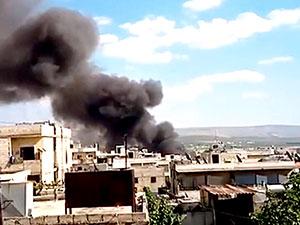 Afrin'de patlama: En az 35 sivil hayatını kaybetti
