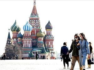 Rusya'da son 24 saatte 10 bin 559 yeni vaka tespit edildi