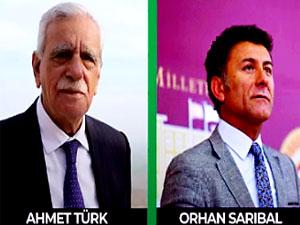 Orhan Sarıbal ve Ahmet Türk'ten Kürtçe şarkı