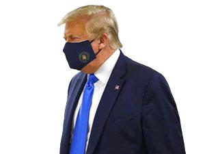 Trump ilk kez itiraf etti: Salgın kötüleşecek, maske takın