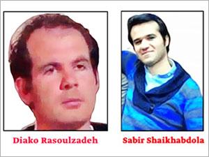 İran iki siyasi Kürt mahkumu idam etti