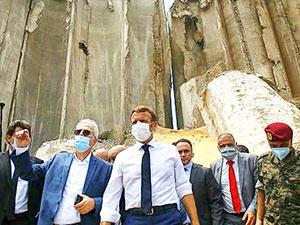 Macron: Fransa, Lübnan'da üzerine düşeni yapmazsa bu boşluğu Türkiye doldurur