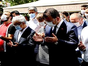 Ayşe Sancar'ın cenazesine İmamoğlu da katıldı