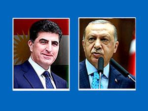 Neçirvan Barzani ile Erdoğan görüştü