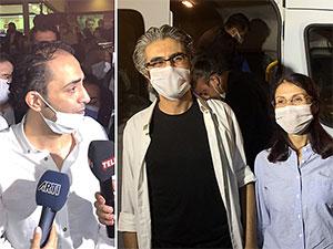 Gazeteciler Pehlivan, Ağırel ve Kılınç tahliye edildi