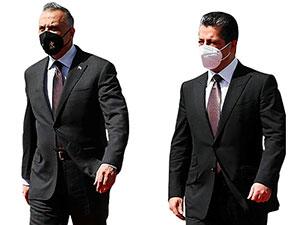 Irak Başbakanı Mustafa Kazımi Hewler'de