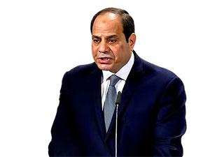 Mısır lideri Sisi Türkiye'yi hedef aldı: Sömürgeci hayallerini gerçekleştirmeye son vereceğiz