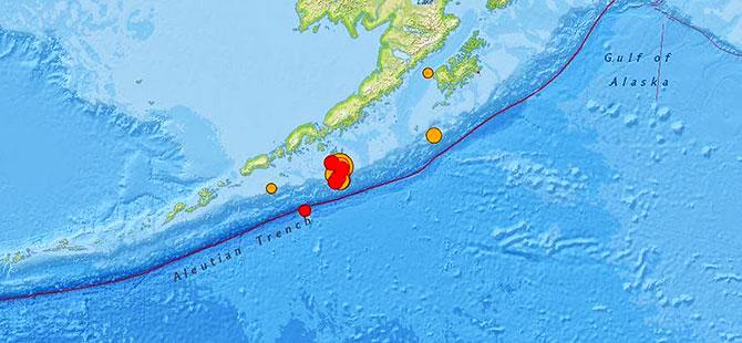 Alaska'da 7.5 büyüklüğünde deprem; bölgede tsunami alarmı verildi