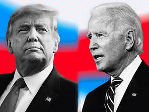 Trump ile Biden seçimler öncesi son kez kapıştı