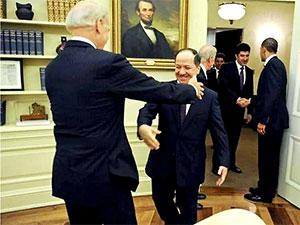 Mesud Barzani: Dostum sizi içten kutluyorum
