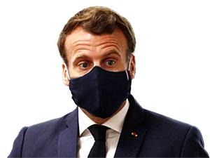 Fransa Cumhurbaşkanı Macron'un Covid-19 testi pozitif çıktı
