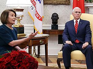 Nancy Pelosi'den Mike Pence'e 24 saat süre