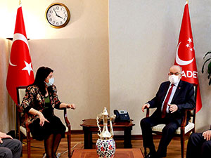 HDP heyeti Saadet Partisi ile görüştü
