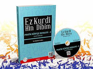 Kürtçeyi öğreten kitap: Ez Kurdî Hîn Dibim - Pratik Kürtçe Dersleri II