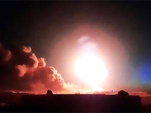 TSK kontrolündeki ilçeler balistik füze ile vuruldu
