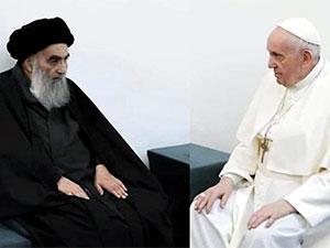 Papa Francesco, Ayetullah Ali Sistani ile görüştü