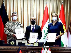 Kürdistan Bölgesi ile Almanya arasında askeri işbirliği anlaşması