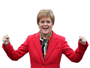 İskoçya seçimlerin galibi Sturgeon'dan bağımsızlık referandumu sözü