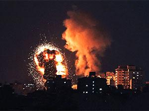 İsrail'den Gazze'ye hava saldırısı: Dokuzu çocuk 24 kişi öldü